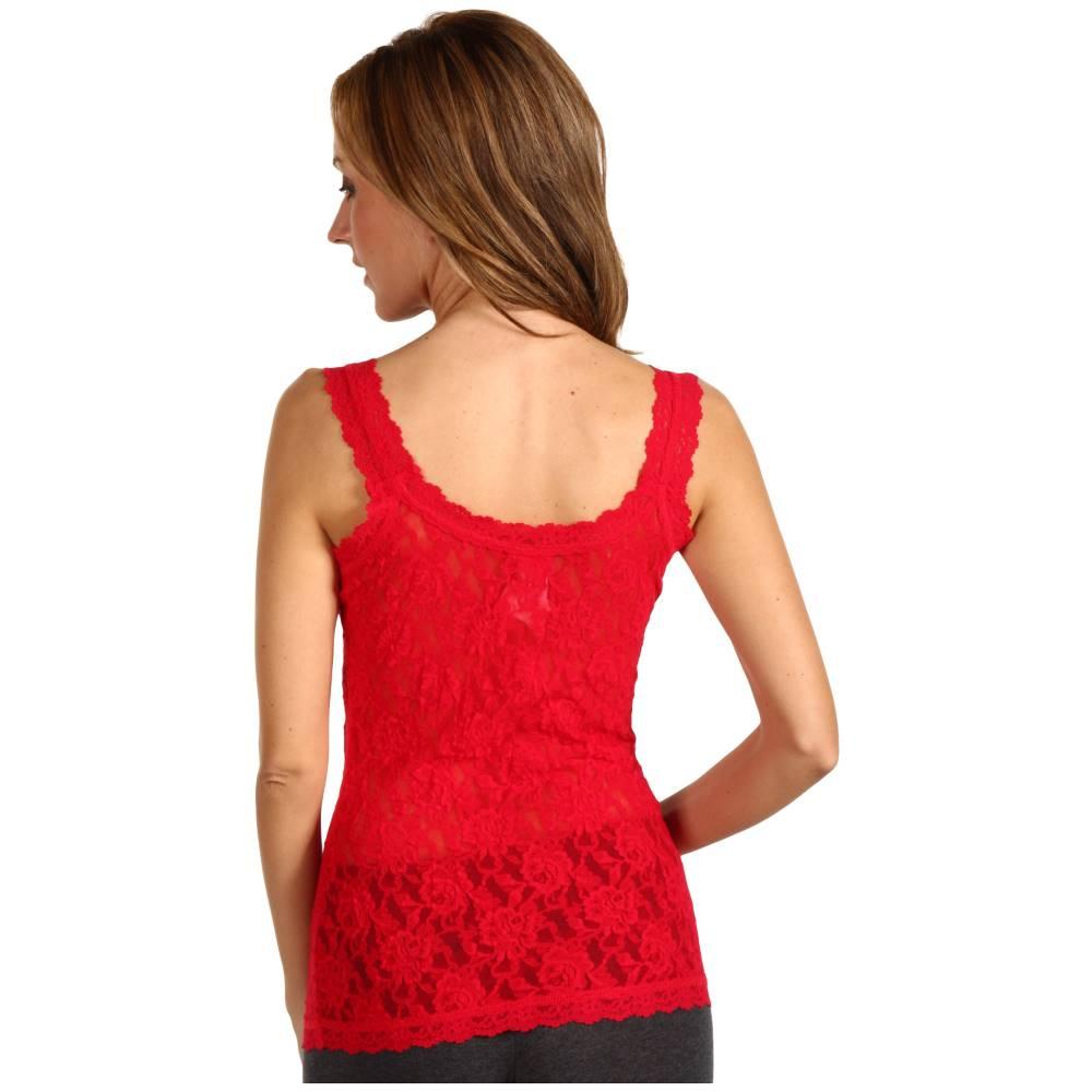 ハンキーパンキー レディース インナー・下着 スリップ・キャミソール【Signature Lace Unlined Cami】Red
