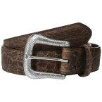 アリアト メンズ ファッション小物 ベルト【Western Basic Belt】Adobe Clay Perforated Edge