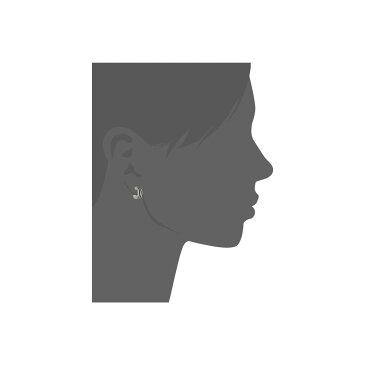 ザ サク レディース ジュエリー・アクセサリー イヤリング・ピアス【Ribbed Baby Hoop Earrings】Silver