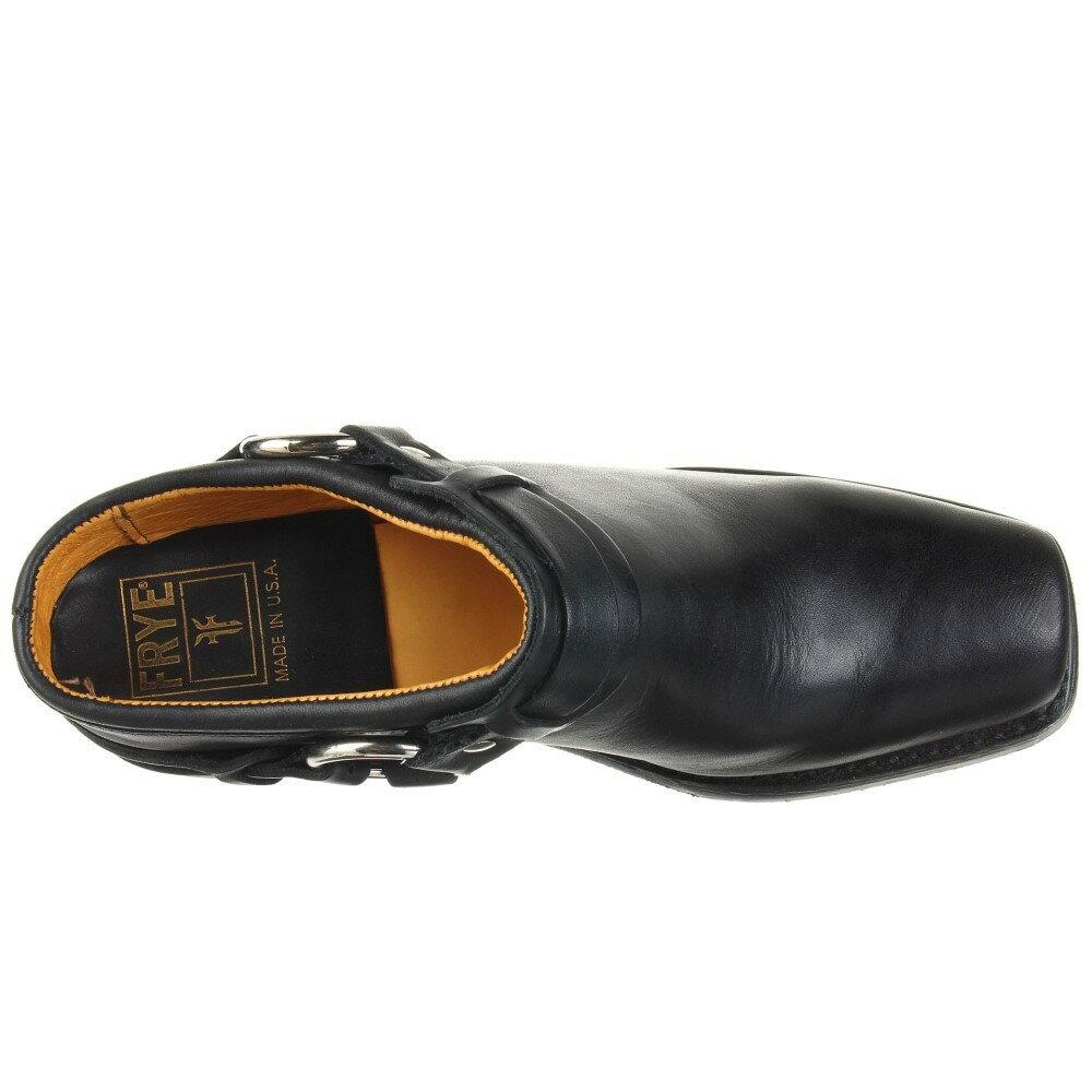 フライ レディース シューズ・靴 サンダル・ミュール【Belted Harness Mule】Black Greasy Leather