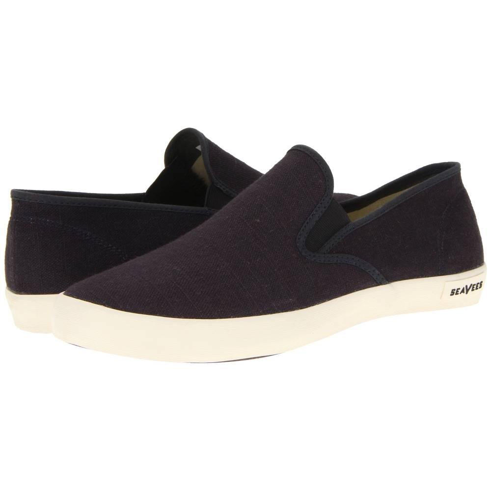 メンズ靴, スリッポン  0264 Baja Slip-on StandardSlate Navy Vintage Wash Linen