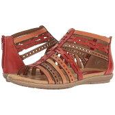 カルソーアースシューズ レディース シューズ・靴 サンダル・ミュール【Bay】Scarlet Multi Soft Leather