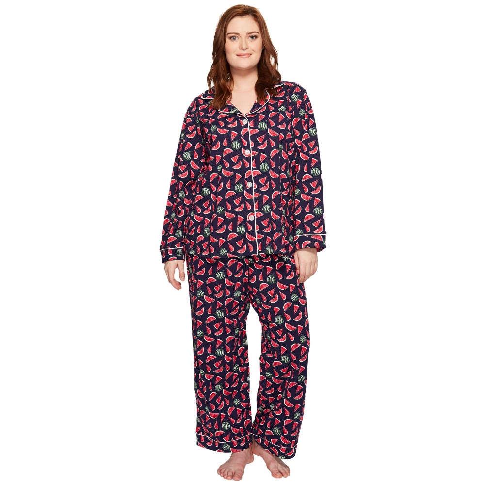 ベッドヘッド BedHead レディース インナー パジャマ【Plus Size Long Sleeve Classic Pajama Set】Taste of Summer:フェルマート