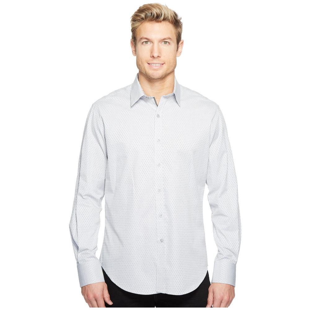 ロバートグラハム Robert Graham メンズ トップス 長袖シャツ【Steinbeck Long Sleeve Woven Shirt】Grey:フェルマート