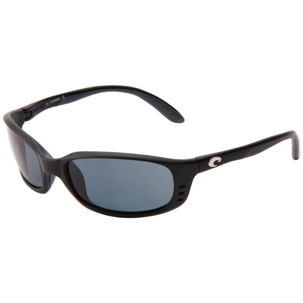 コスタ メンズ ファッション小物 スポーツサングラス【Brine 580 Plastic Lens】Black/Gray 580 Plastic Lens:フェルマート
