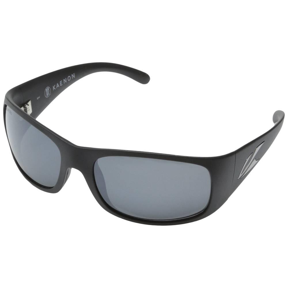 カエノン メンズ ファッション小物 スポーツサングラス【Jetty】Matte Black/Grey Mirrored G12M:フェルマート