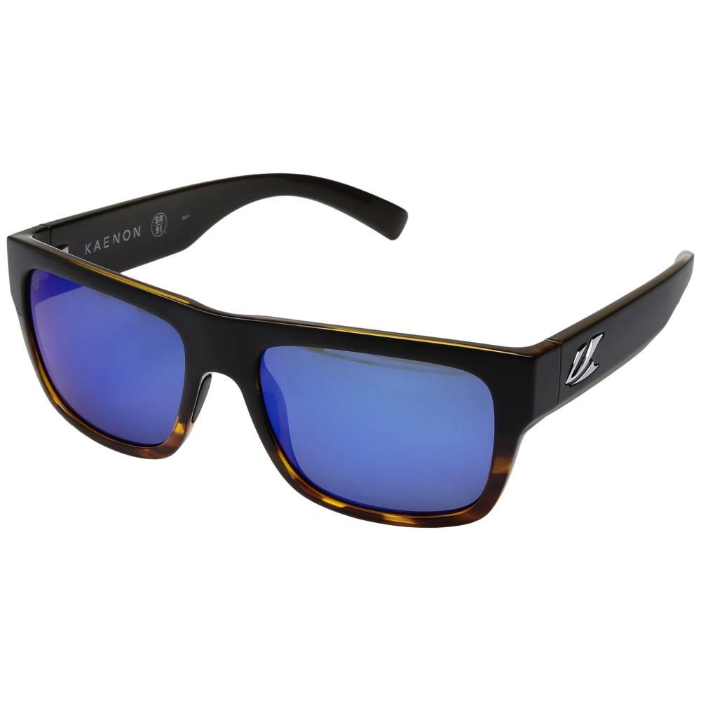 カエノン メンズ ファッション小物 スポーツサングラス【Montecito】Matte Black/Tortoise/Pacific Blue Mirror:フェルマート