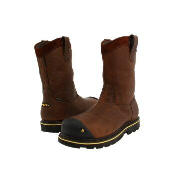 キーン メンズ シューズ・靴 ブーツ【Dallas Wellington】Dark Brown