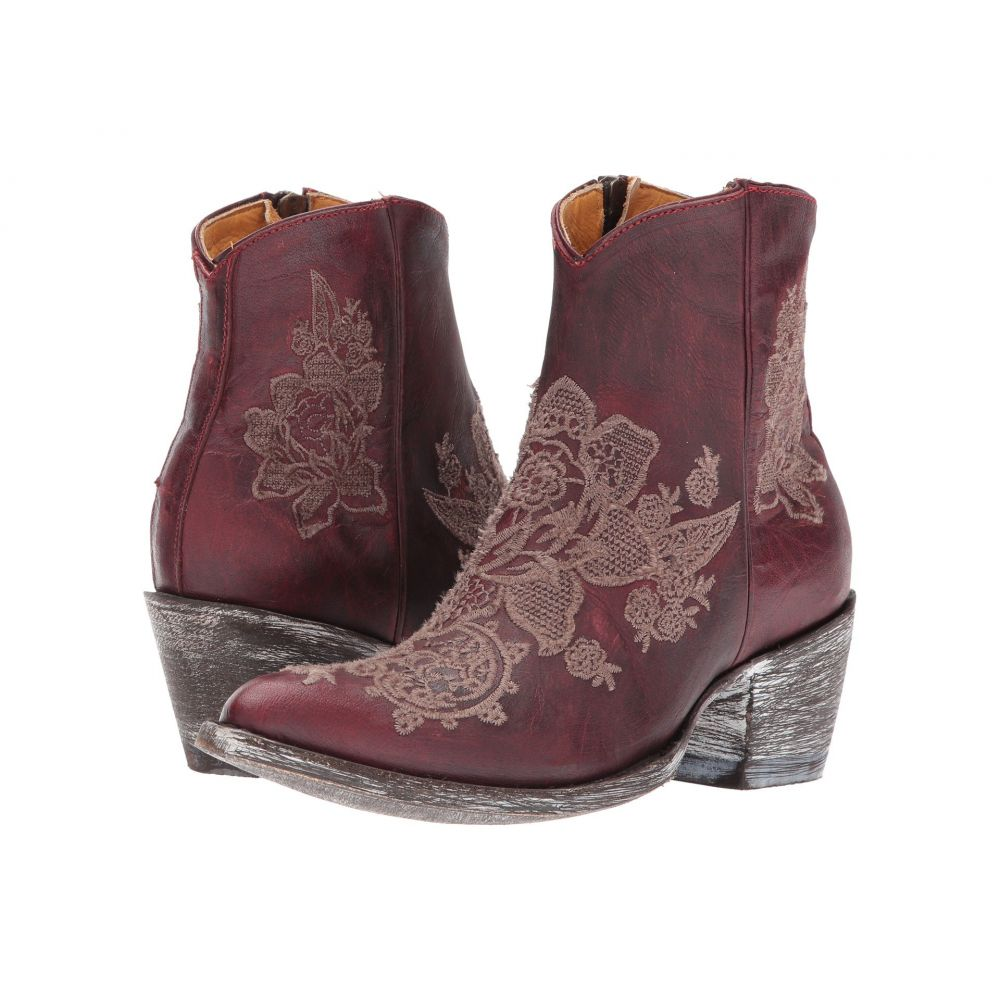 オールド グリンゴ レディース シューズ・靴 ブーツ【Nicolette Ankle】Red