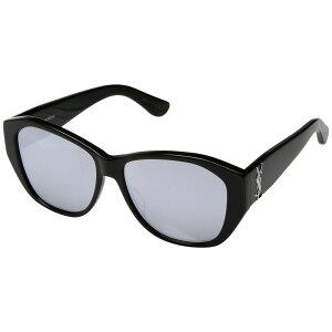 888a2fd145f2fe イヴ サンローラン レディース メガネ・サングラス SL M8 Black Mirror Extra White Lens ※ブランド の箱や袋が付属しない場合がございます。