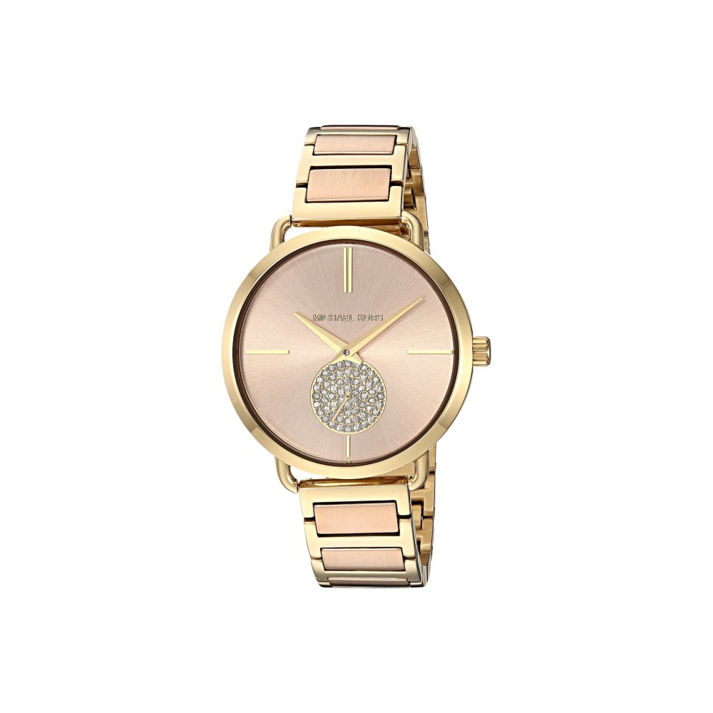 881d35f1873e 腕時計 マイケル コース 【Slim Runway Gold-Tone 3 Hand Watch】 レディース Gold/ Pink