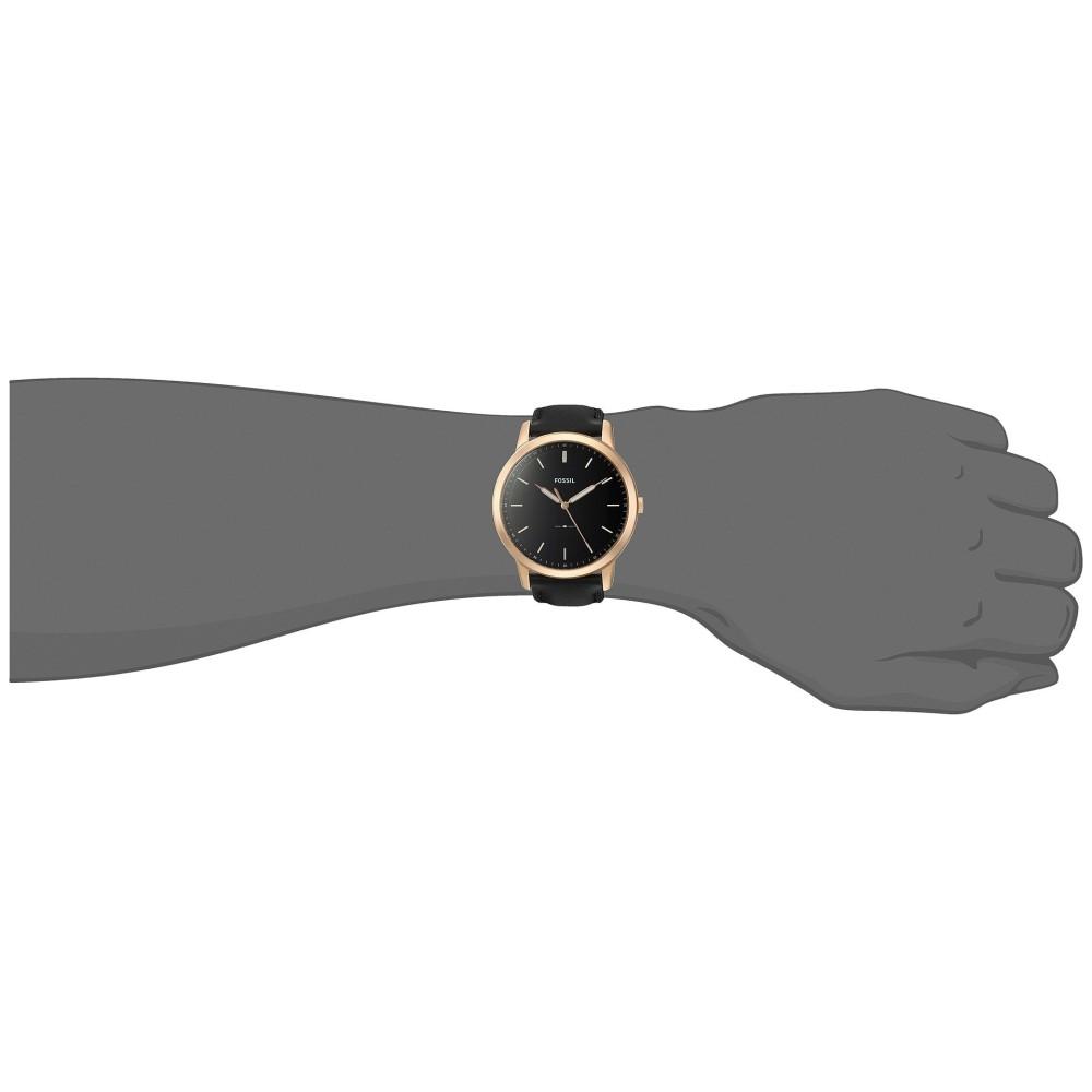 フォッシル メンズ 腕時計【The Minimalist - FS5376】Black