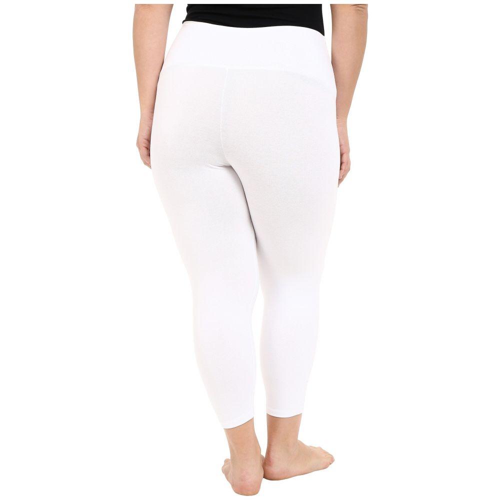 ユミエ レディース インナー・下着 スパッツ・レギンス【Plus Size Gloria Skimmer Leggings】White