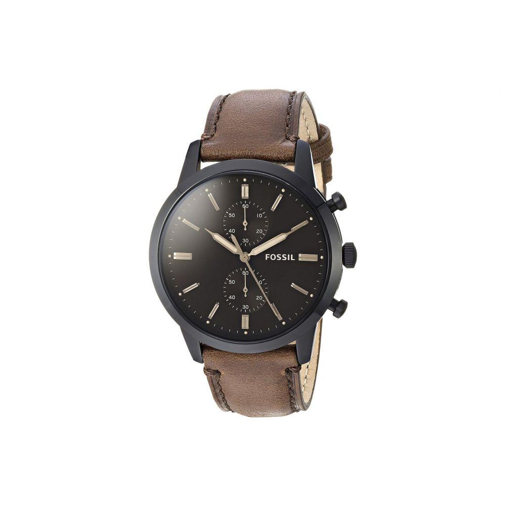 フォッシル メンズ 腕時計【44mm Townsman - FS5437】Brown