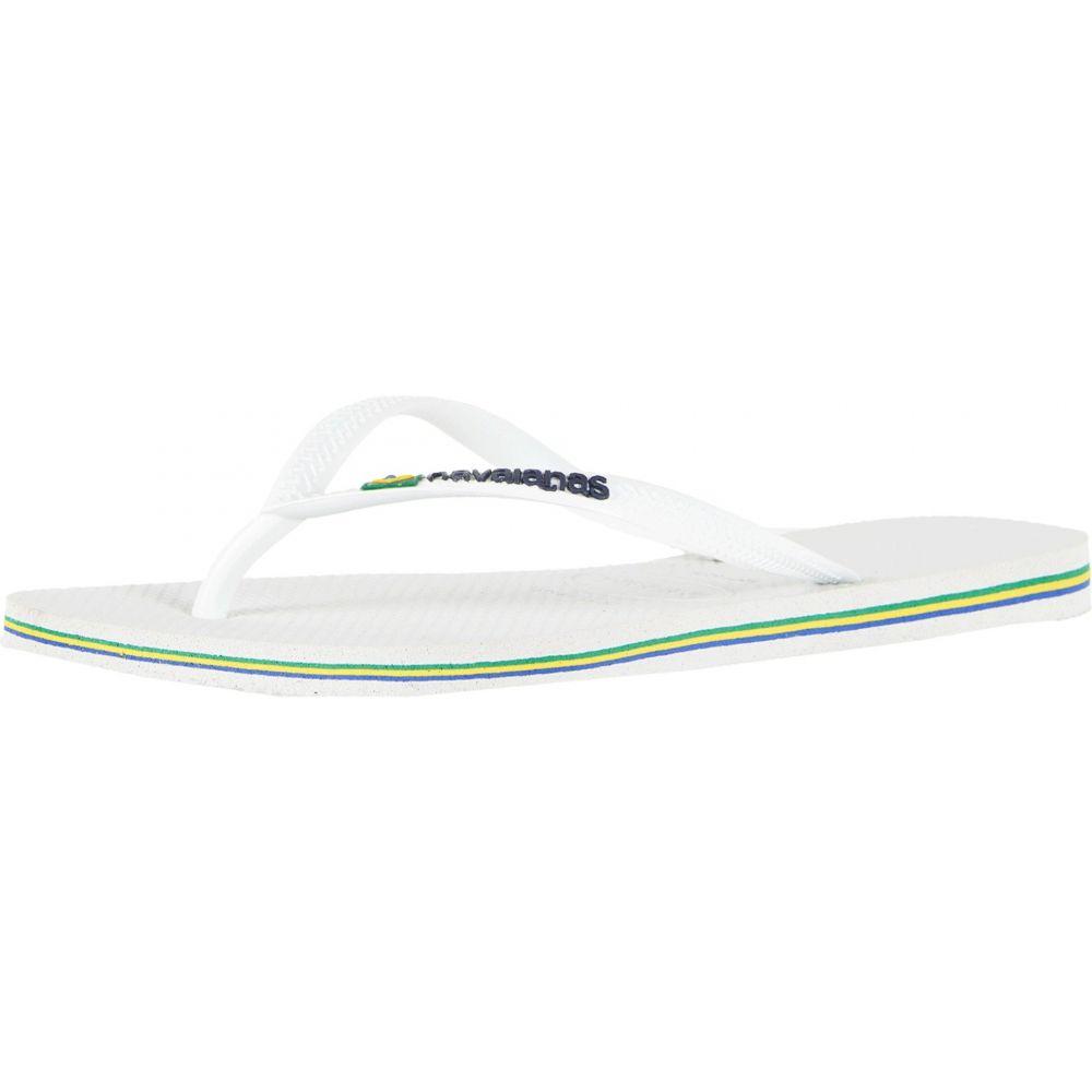 ハワイアナス レディース シューズ・靴 ビーチサンダル【Slim Brazil Flip-Flops】White