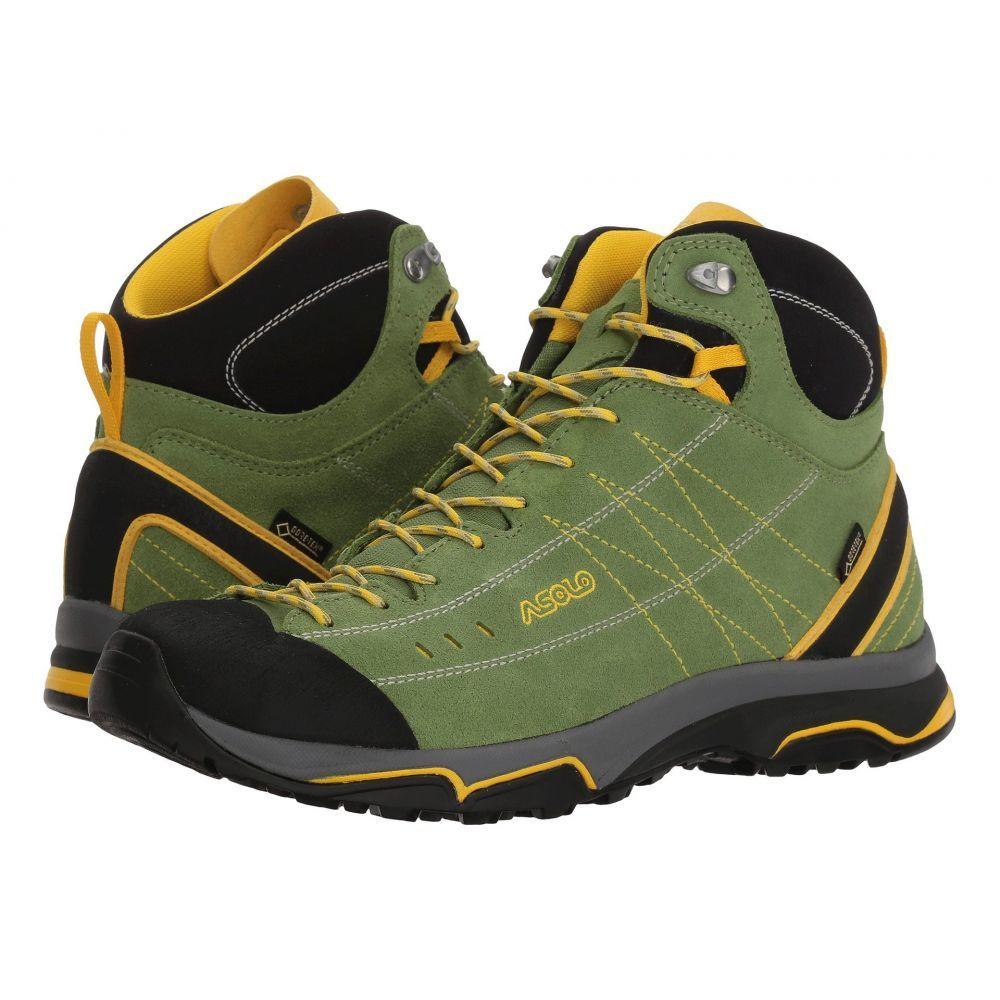 アゾロ レディース ハイキング・登山 シューズ・靴English Ivy/Yellow