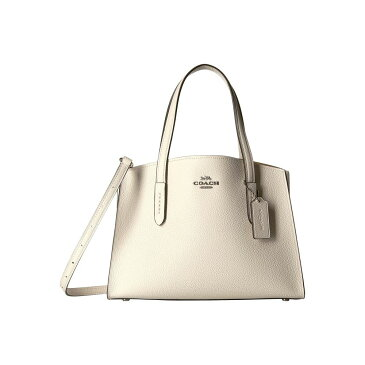 コーチ COACH レディース バッグ ハンドバッグ【Charlie 28 Carryall in Polished Pebble Leather】SV/Chalk