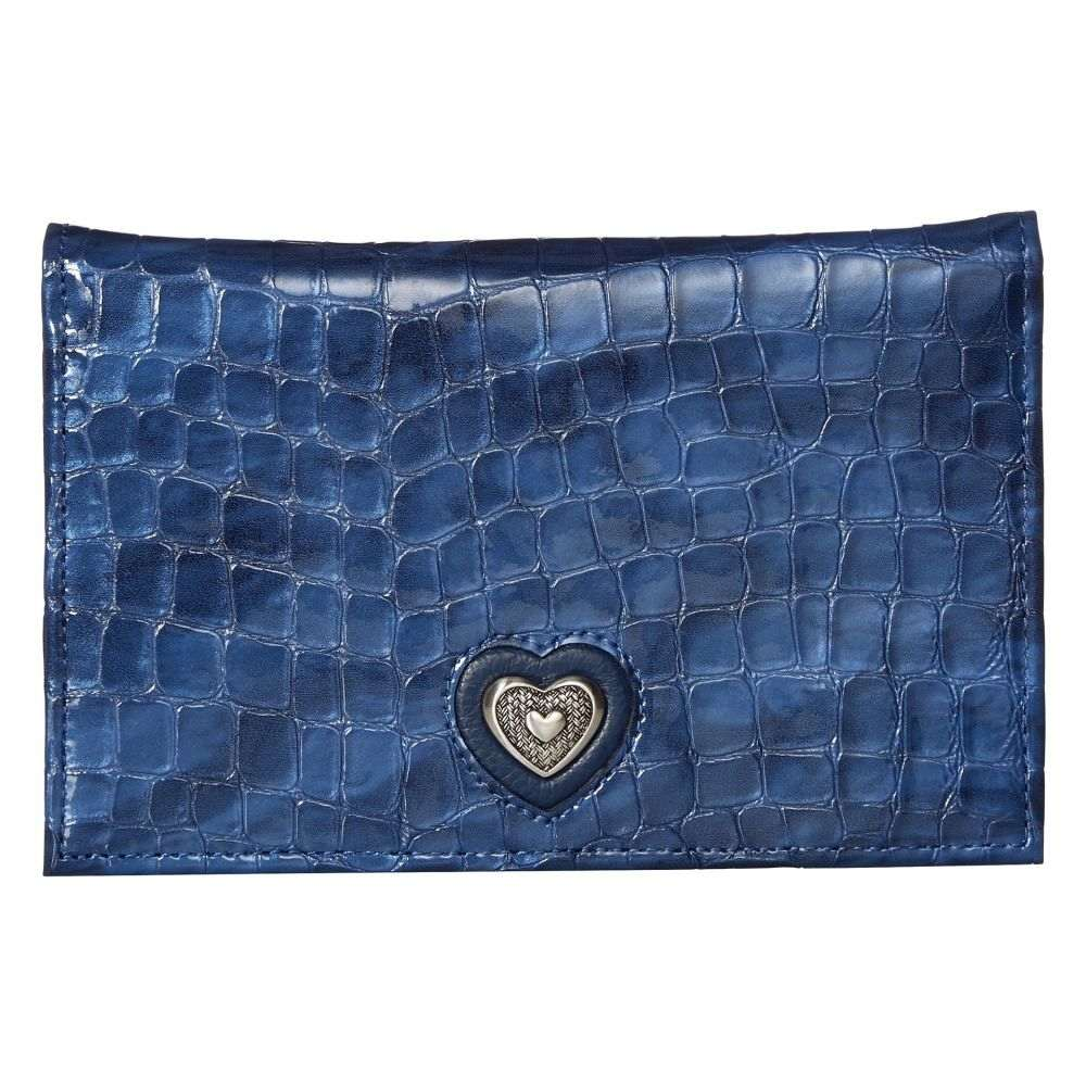 47b6e3a0a320 ブライトン Brighton レディース 財布【Bellissimo Heart Folio Wallet】French Blue ブライトン  レディース 財布·時計·雑貨 財布 French Blue 【サイズ交換無料】
