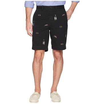 ラルフ ローレン Polo Ralph Lauren メンズ ボトムス・パンツ ショートパンツ【Stretch Classic Fit Chino Shorts】Polo Black/Embroidered