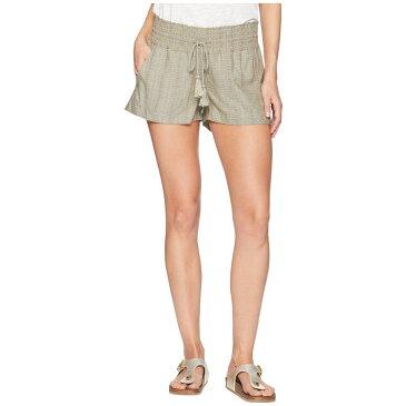 ロキシー Roxy レディース ボトムス・パンツ ショートパンツ【Oceanside Yarn-Dyed Shorts】Burnt Olive