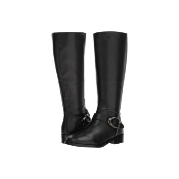 コーチ COACH レディース シューズ・靴 ブーツ【Brynn Signature Buckle Riding Boot】Black Extra Calf