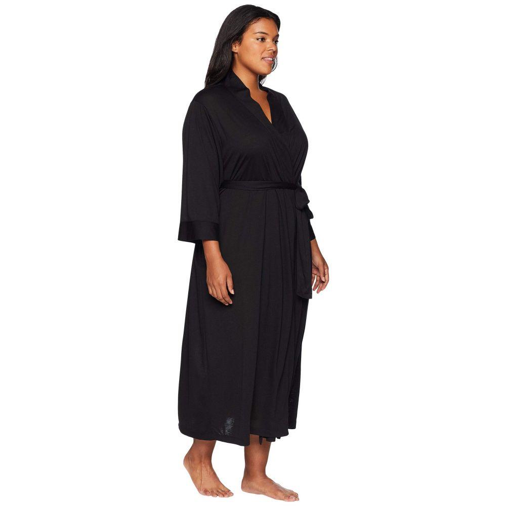 ナトリ N by Natori レディース インナー・下着 ガウン・バスローブ【Plus Size Congo Robe】Black