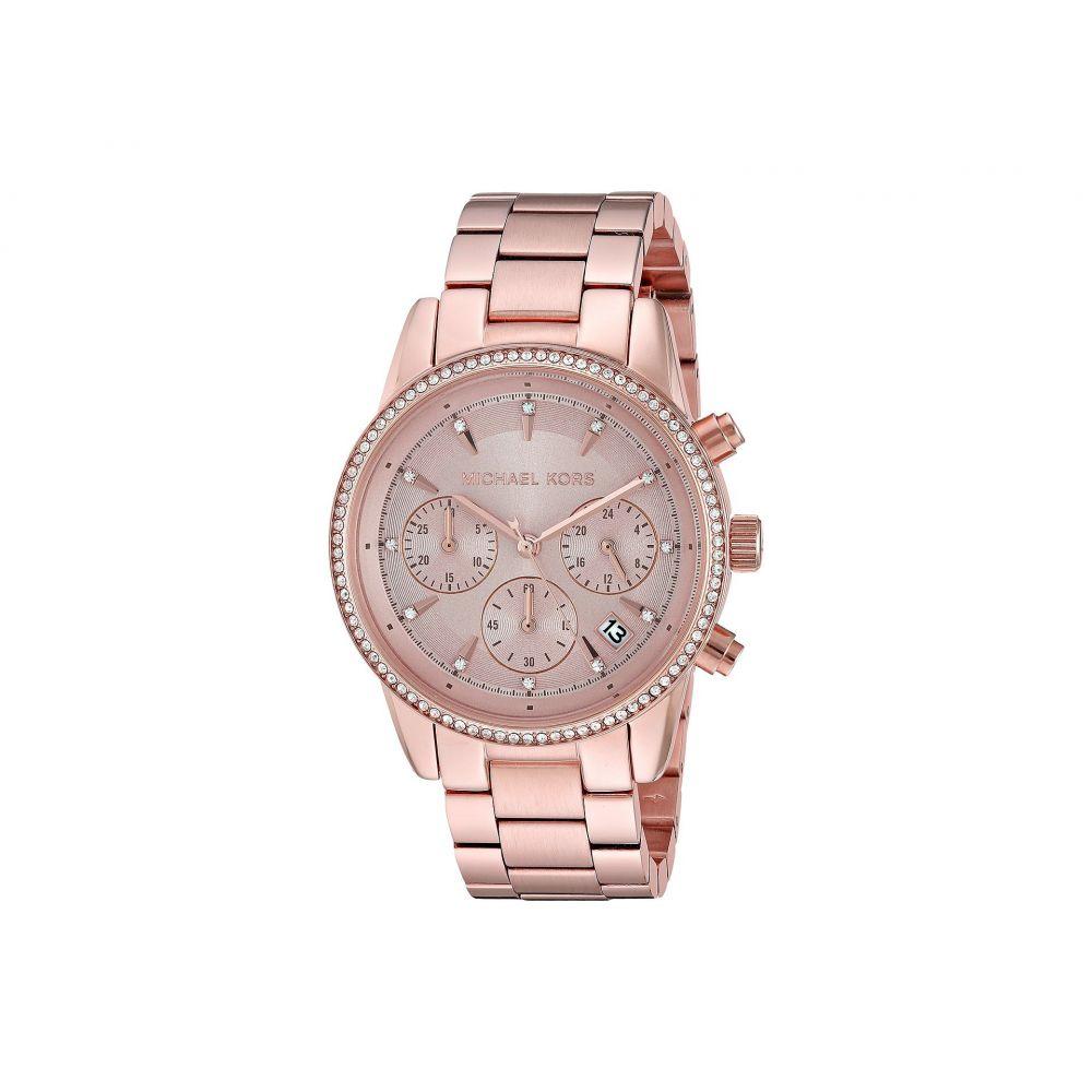 4d1ff465c73e マイケル コース Michael Kors レディース 腕時計【MK6357 - Ritz】Gold マイケル コース レディース 財布·時計·雑貨  腕時計 Gold 【サイズ交換無料】