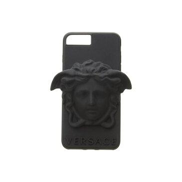 ヴェルサーチ Versace レディース iPhone (8 Plus)ケース【Medusa Phone Cover iPhone 8+】Black