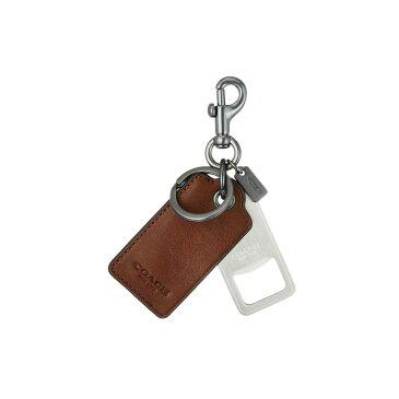 コーチ COACH メンズ キーホルダー【Bottle Opener Keyfob】Brown