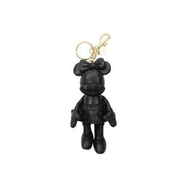 コーチ COACH レディース キーホルダー【Minnie Mouse Doll Bag Charm Disney x】LI/Black