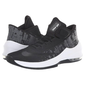 ナイキ Nike メンズ バスケットボール シューズ・靴【Air Max Infuriate 2 Mid】Black/Black/White/Anthracite
