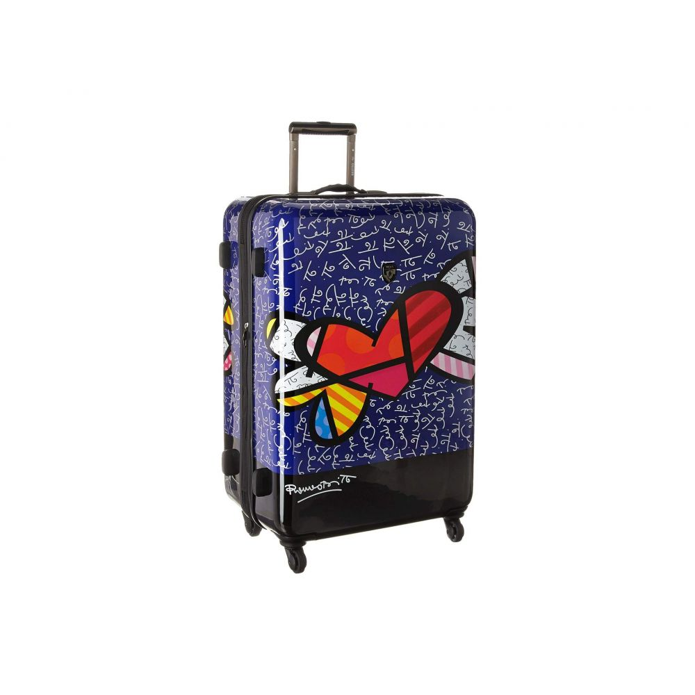 591f41eea8 ヘイズ Heys America レディース バッグ スーツケース·キャリーバッグ【Britto Heart with Wings 30'  Spinner】Multicolor ヘイズ レディース バッグ スーツケース· ...