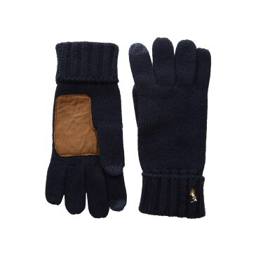ラルフ ローレン Polo Ralph Lauren メンズ 手袋・グローブ【Signature Merino Touch Gloves】Hunter Navy