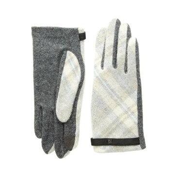 ラルフ ローレン LAUREN Ralph Lauren レディース 手袋・グローブ【Plaid Touch Gloves】Dark Grey Plaid
