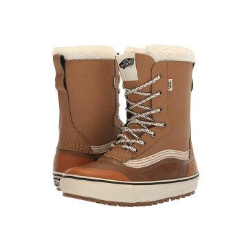 ヴァンズ Vans レディース シューズ・靴 ブーツ【Standard(TM) Snow Boot '18】Brown/White