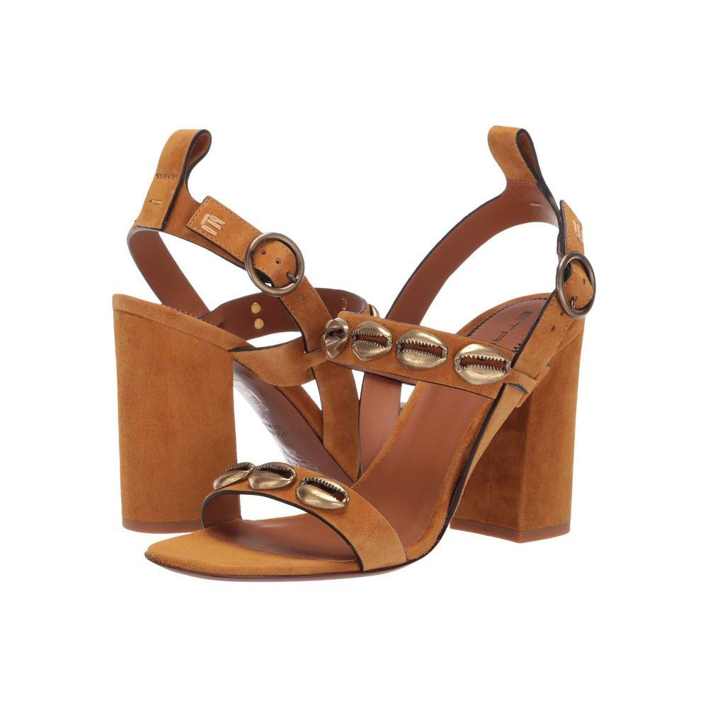 エトロ Etro レディース シューズ・靴 サンダル・ミュール【Shell Heeled Sandal】Light Brown