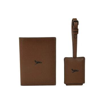 コーチ COACH メンズ パスポートケース【Boxed Passport Case and Luggage Tag Featuring Motif】Brown