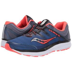 サッカニー Saucony メンズ ランニング・ウォーキング シューズ・靴【Guide ISO】Blue/Grey/Vizi Red