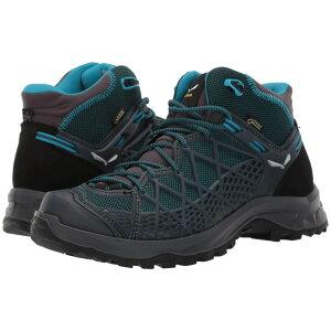 サレワ SALEWA レディース ハイキング・登山 シューズ・靴【Wild Hiker Mid GORE-TEX】French Blue/Black