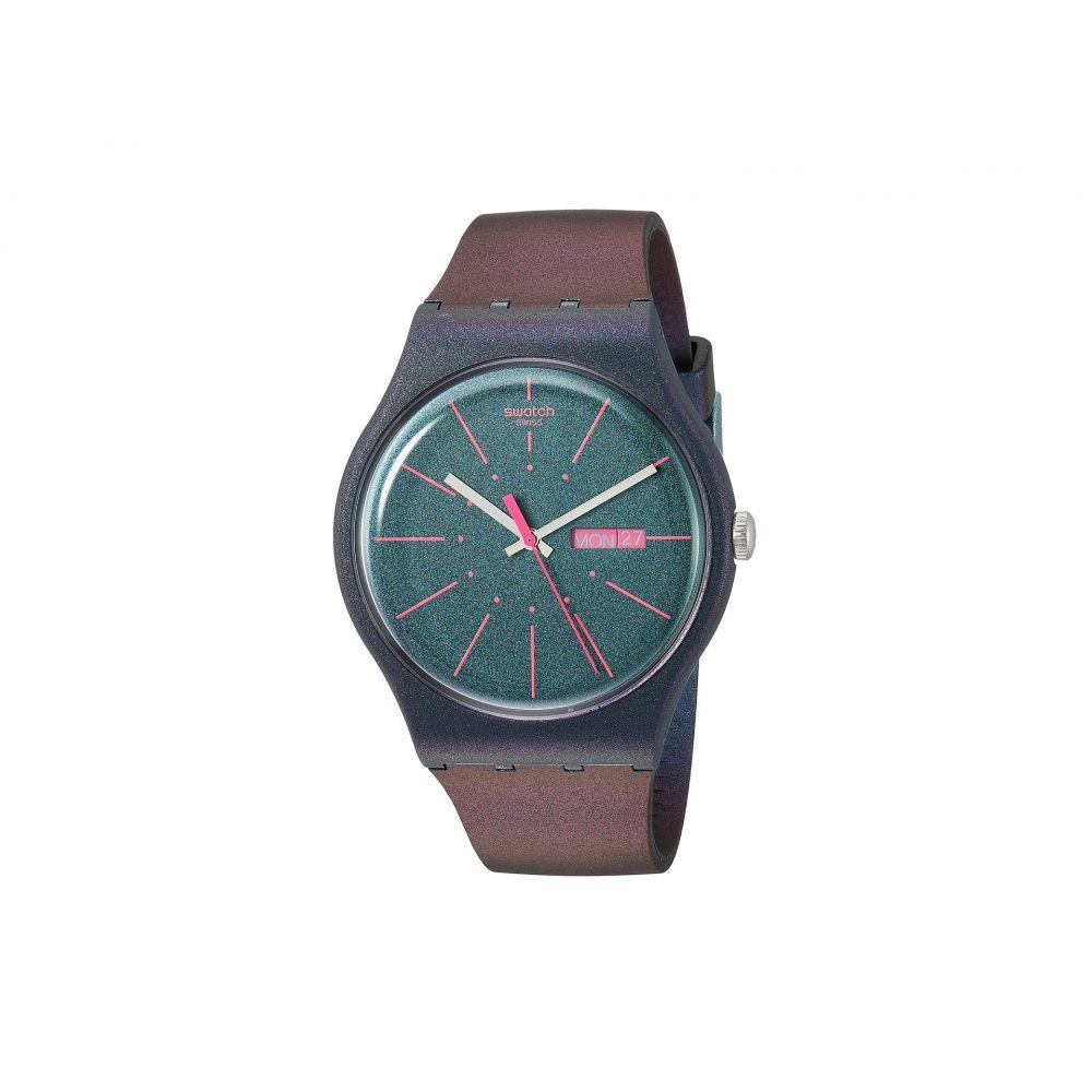 スウォッチ Swatch レディース 腕時計【New Gentleman - SUON708】Blue