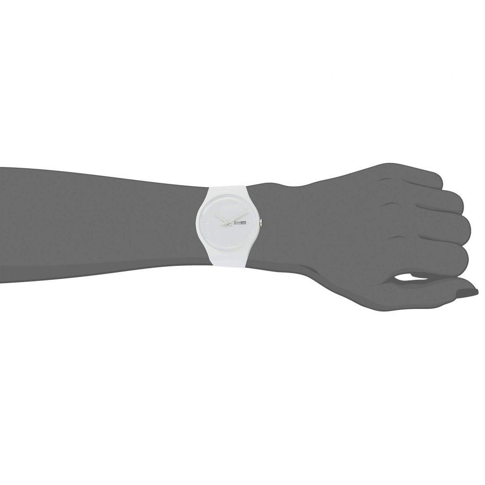 スウォッチ Swatch レディース 腕時計【White Rebel - SUOW701】White