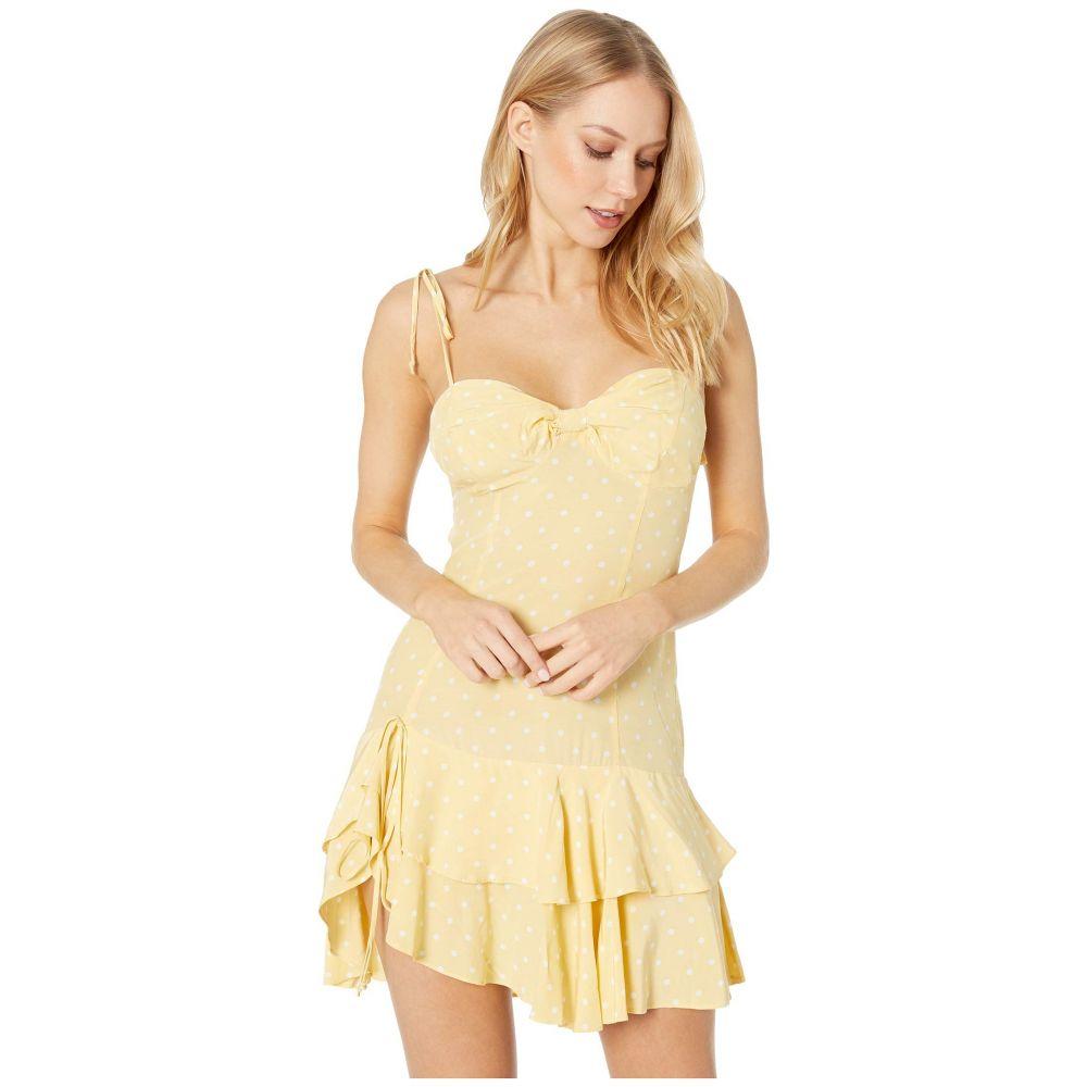 9e717e5016587 フォーラブアンドレモン For Love and Lemons レディース ワンピース·ドレス ワンピース Limoncello Tiered  Ruffle Dress Yellow フォーラブアンドレモン レディース ...