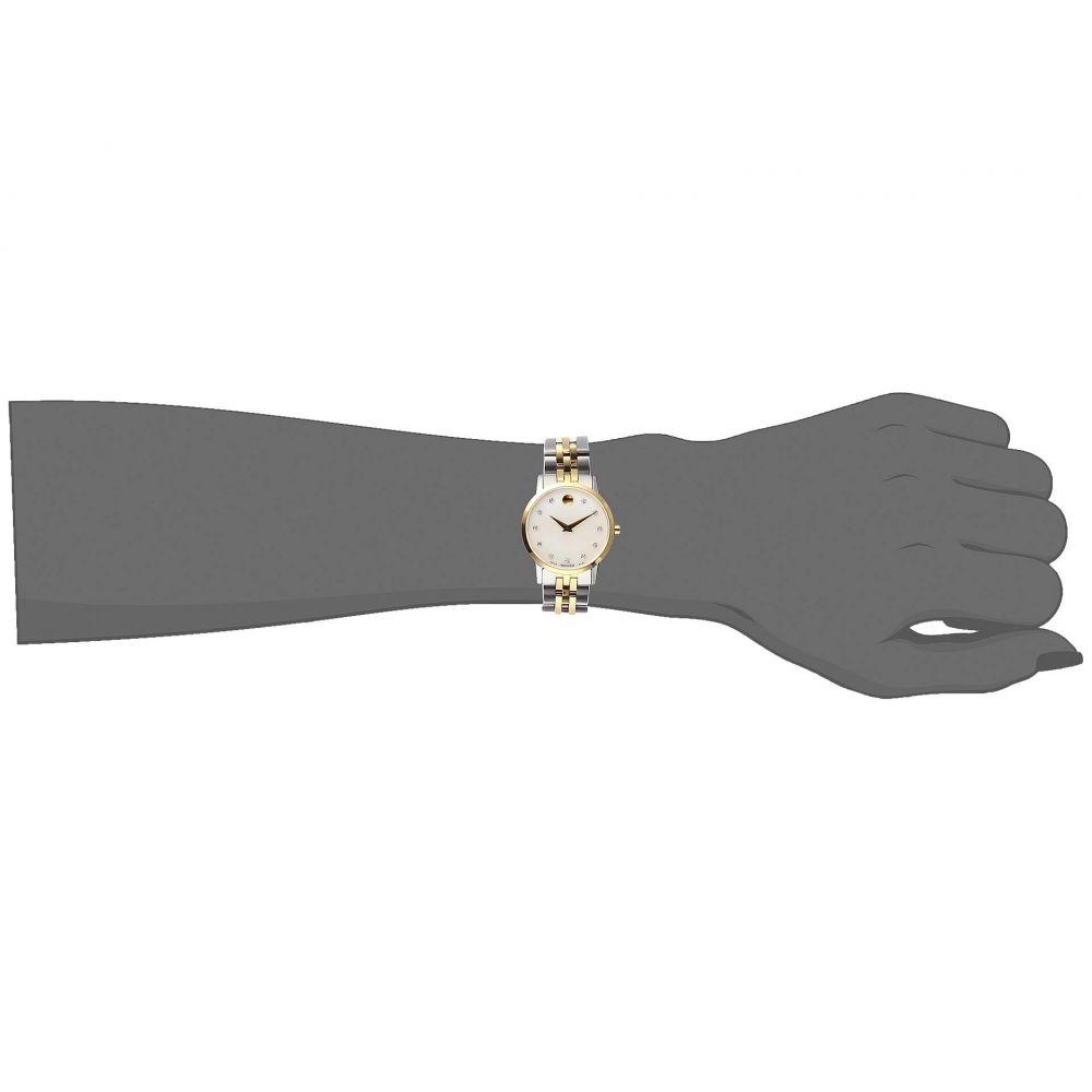 モバード Movado レディース 腕時計【Museum Classic - 0607208】White/Mother-of-Pearl