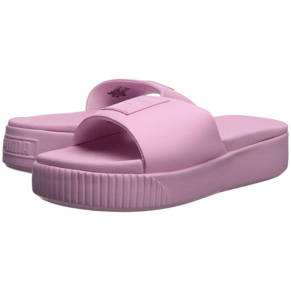 プーマ PUMA レディース シューズ・靴 サンダル・ミュール【Platform Slide】Pale Pink/Pale Pink