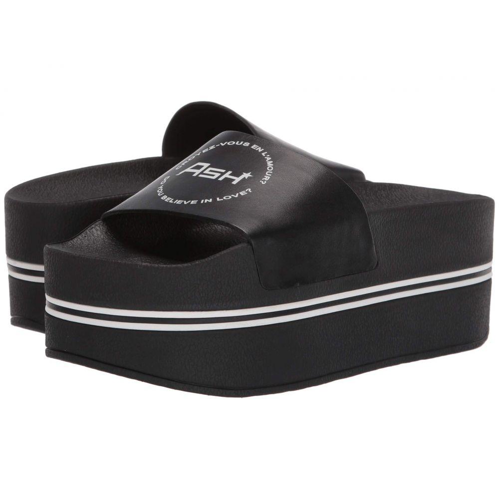 アッシュ ASH レディース シューズ・靴 サンダル・ミュール【Platform Slide】Nappa Calf Black