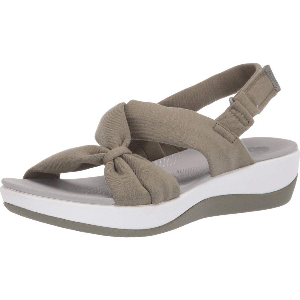 クラークス Clarks レディース シューズ・靴 サンダル・ミュール【Arla Primrose】Dusty Olive Textile