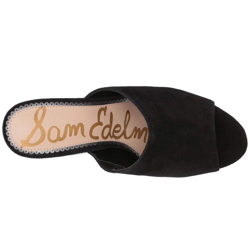 サム エデルマン Sam Edelman レディース シューズ・靴 サンダル・ミュール【Orlie】Black Kid Suede Leather