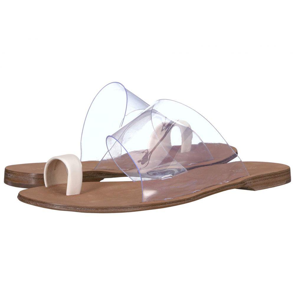 ダイアン フォン ファステンバーグ Diane von Furstenberg レディース シューズ・靴 サンダル・ミュール【Brittany-2】Ivory Leather/Clear