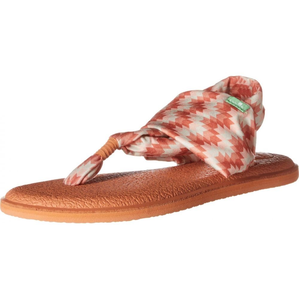 サヌーク Sanuk レディース シューズ・靴 サンダル・ミュール【Yoga Sling 2 Prints】Coral Chevron