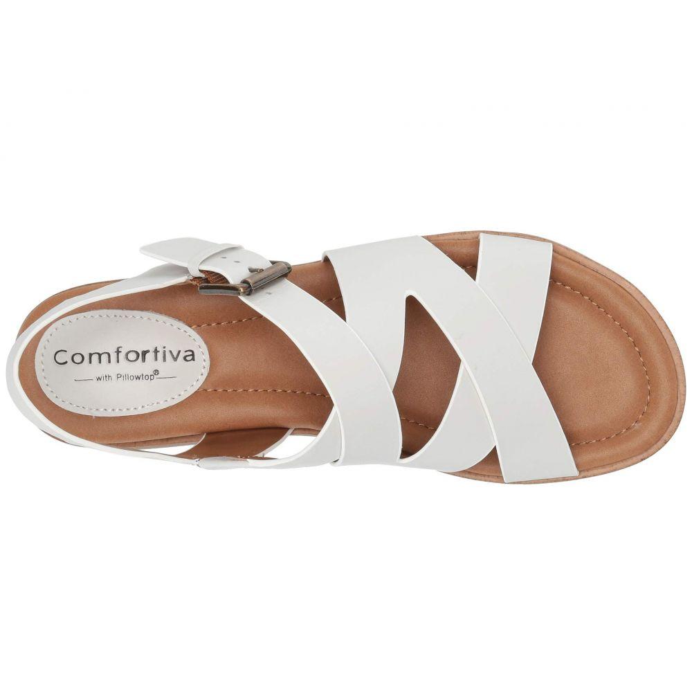 コンフォーティヴァ Comfortiva レディース シューズ・靴 サンダル・ミュール【Devera】White M-Vege